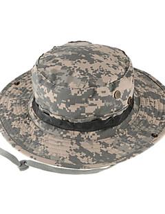Güneş Şapkası Şapka Ultravioleye Karşı Dayanıklı Erkek Siyah / KamuflajKamp & Yürüyüş / Avlanma / Balıkçılık / Kumsal / Bisiklete