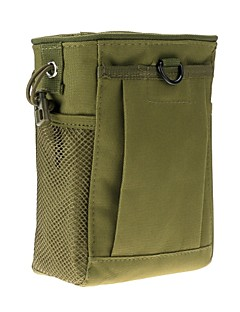 LS1646 S Size Outdoor All-Purpose Nylon Waterproof Molle Military Recycle Collection Pouch Carrying Bag with Drawstring