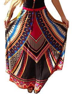 מקסי - בינוני (מדיום) - סגנון - חצאית ( פוליאסטר )