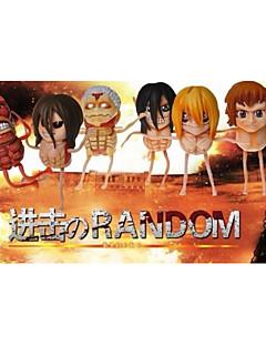 Attack on Titan Outros PVC One Size Figuras de Ação Anime modelo Brinquedos boneca Toy