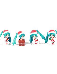 보컬로이드 Hatsune Miku PVC One Size 애니메이션 액션 피규어 모델 완구 인형 장난감