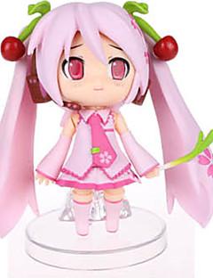 보컬로이드 Sakura Miku PVC One Size 애니메이션 액션 피규어 모델 완구 인형 장난감
