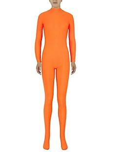 Zentai kombinézy Morphsuit Ninja Zentai Cosplay kostýmy Oranžová Jednobarevné Leotard/Kostýmový overal Zentai Spandex Lycra Unisex