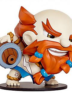 """בליגה של צעצוע בובה צעצועים מודל דמויות פעולה אנימה gragas 10 ס""""מ אגדות"""