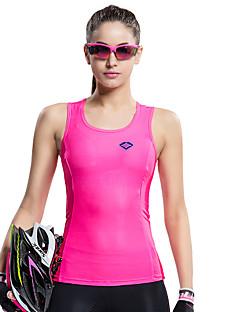 SANTIC® ווסט לרכיבה לנשים בלי שרוולים אופניים נושם / ייבוש מהיר / עמיד אולטרה סגול / מגביל חיידקיםאפוד / עליונית טנק / ג'רזי / טי שירט /