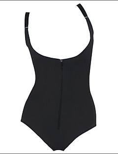 여성제품 오버버스트 코르셋 / 플러스 사이즈 잠옷 솔리드-여성의 면 / 그외 / 폴리에스테르 / 스판덱스 / 모달섬유 블랙