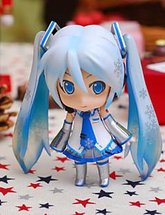 Vocaloid Snow Miku PVC One Size Figure Anime Azione Giocattoli di modello Doll Toy