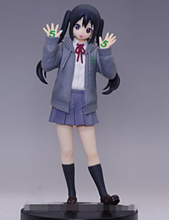 K-ON Azusa Nakano 18CM Anime Action Figures Model Toys Doll Toy