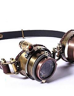 Acessórios Lolita Gótica / Punk Óculos Goggle Inspiração Vintage / Vitoriano Marrom / Dourado Lolita Acessórios Lolita Patchwork Para