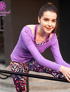 SMOEDOD®Ioga tops Respirável / Secagem Rápida / Vestível Elasticidade Alta Wear Sports Ioga Mulheres