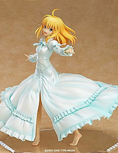 Fate/Stay Night Saber Lily 25CM Anime Action-Figuren Modell Spielzeug Puppe Spielzeug
