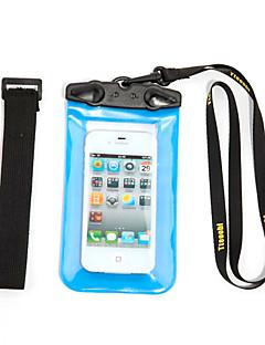 Száraz dobozok Száraz tasakok Mobiltelefon Vízálló Búvárkodás és felszíni búvárkodás PVC Fekete Fehér Piros Orange Zöld Kék