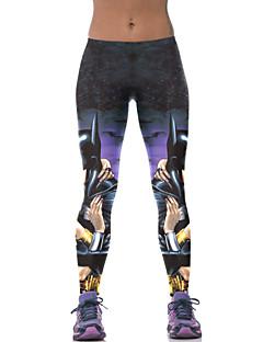 Actief-Polyester-Micro-elastisch-Sport-Broek-Vrouwen