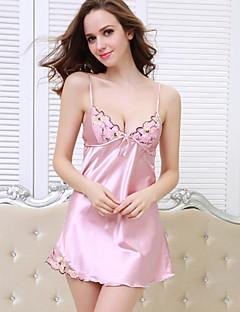 Damen Pyjama - Polyester / Satin Dünn