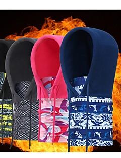 Śály Kolo Prodyšné Zahřívací Větruvzdorné Unisex Červená Šedá Černá elastan Samet Modální Fleece