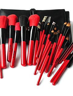 Red & Black® 30pcs Makeup Brushes set Goat/Mink Hair Professional/Limits bacteria Blush brush Shadow/Eyeliner/Lip/Brow/Lashes Brush