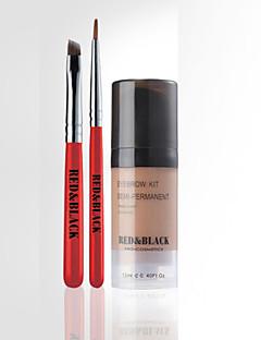 crvena&crna obrva komplet proširenje pokrivenosti 3d oblik obrva fiksiranje šminke 12 ml