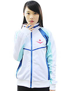 Inspired by Free! Cosplay Anime Cosplay Costumes Cosplay Hoodies Print White Long Sleeve Coat
