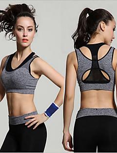 Outros®Ioga Malha Íntima Respirável / Compressão / Redutor de Suor / Suavidade Stretchy Wear Sports Ioga / Fitness / Corrida Mulheres