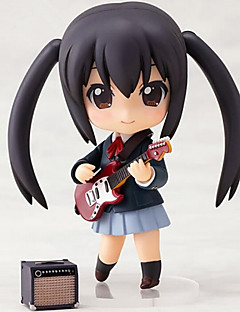 K-ON Azusa Nakano 10CM Anime Action Figures Model Toys Doll Toy