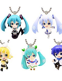 Vocaloid Hatsune Miku 10CM Anime Action-Figuren Modell Spielzeug Puppe Spielzeug