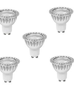 10W GU10 Spot LED MR16 1 COB 400 lm Blanc Chaud / Blanc Froid Gradable AC 100-240 V