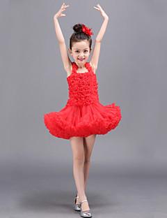 Cosplay Kostýmy / Kostým na Večírek Princeznovské Festival/Svátek Halloweenské kostýmy Červená / Růžová / Modrá / Béžová Jednobarevné Šaty