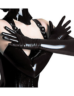 Halloween Props Woman's Hot Sell PVC Leather Gloves Halloween/Christmas/New Year
