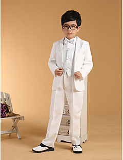 Gold / Silver Cotton Ring Bearer Suit-6 Pieces