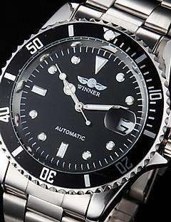 Winner® Men's Dress Watch Fashion Watch Mechanical Watch Wrist watch Automatic self-winding Calendar Water Resistant/Water Proof Luminous