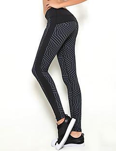 calças de yoga Calças Meia-calça Leggings Respirável Secagem Rápida Moda Esportiva Mulheres LAVIE.Q® Ioga