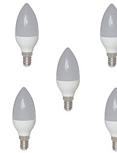 5W E14 LED-kronljus C35 15 SMD 2835 720 lm Varmvit AC 220-240 V