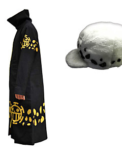 One Piece - Trafalgar Law - met Mantel / Hoed