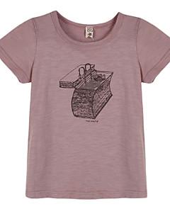ボーイの コットン Tシャツ,幾何学模様 夏