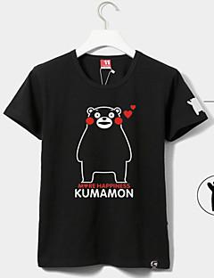 Ihlette Szerepjáték Szerepjáték Anime Szerepjáték jelmezek Cosplay póló Nyomtatott Rövid ujjú Póló Kompatibilitás Uniszex