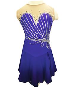 Skating Dresses Women's Purple S / M / L / XL / 6 / 8 / 10 / 12 / 14 / 16 Others