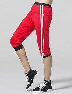 לנשים ריצה מכנסיים 3/4 טייץ תחתיות נושם תומך זיעה קיץטקוונדו איגרוף טיפוס כושר גופני ספורט פנאי בדמינטון כדורסל רכיבה על אופניים/אופנייים