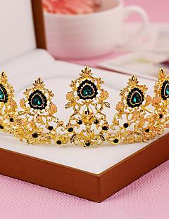 Dame Krystall / Legering Headpiece-Bryllup / Spesiell Leilighet Diademer 1 Deler