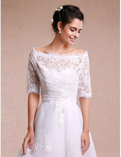 wedding wraps shrugs 34 length sleeve lace white wedding partyevening casual