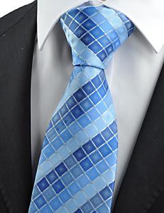 Muž Bavlna / Polyester / Umělé hedvábí Vintage / Roztomilý / Party / Pracovní / Na běžné nošení Kravata,Kostičky