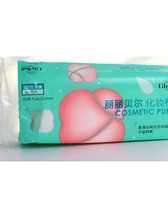 Ватные диски для снятия макияжа Чистый хлопок 一包五十片 Others N/A Нормальная Кот