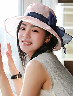 Women Casual Elegant Outdoor Shopping Trips Sun Visor Bow Hat
