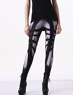 Tryck Legging Dam Polyester / Elastan