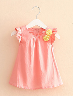 Baby Girl Kids Cotton Outfit Clothes Top Fly Sleeve T-shirt Mix Colors