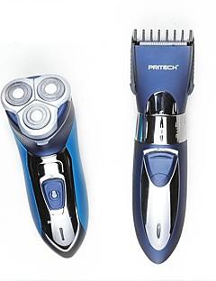 Elektrisk barbermaskin Herre Ansikt Manuell Elektrisk Roterende Barbermaskin Barbering tilbehørVanntett Våt/Tørr Barbering Pop-Opp