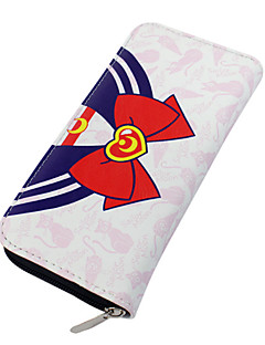 Bag / Wallets Inspired by Sailor Moon Sailor Moon Anime Cosplay Accessories Wallet Red PU Leather Male / Female