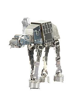 ジグソーパズル 3Dパズル / メタルパズル ビルディングブロック DIYのおもちゃ メタル ピンク プラモデル&組み立ておもちゃ