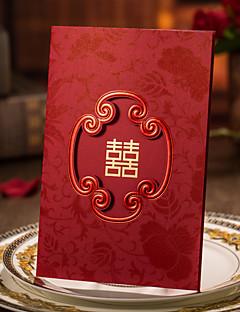 Personalisiert Dreifach gefaltet Hochzeits-Einladungen Einladungskarten / Einladungskarten für die Verlobungsfeier-50 Stück / Set
