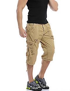 New Fashion Mens Military Cargo Shorts Multi-Pocket Camouflage Short Pants Summer Men Outdoor Sports Cotton