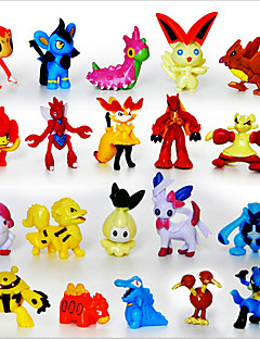 Pocket Little Monster 24pcs Action Figures Cute Monster Mini Figures Toys Best Christmas&Birthday Gifts Brinquedos 3cm